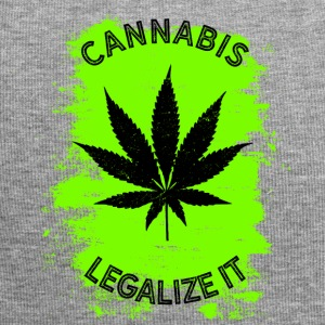 Legalize it cannabis - marijuana THC légaliserait - Bonnet en jersey