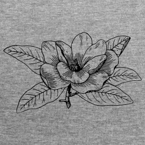 Magnolia Illustration - Jersey-Beanie