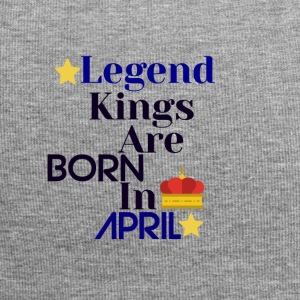 Legend Kings zijn geboren in april - Jersey-Beanie