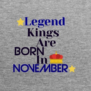 Legend Kings worden geboren in november - Jersey-Beanie