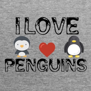 I love penguins - Jersey Beanie