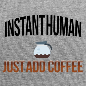 Instant human add coffee - Jersey Beanie