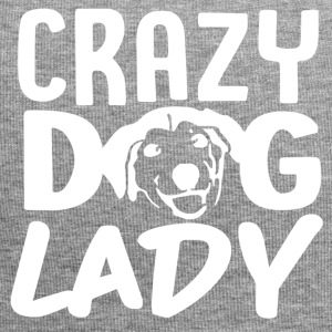 Crazy Dog Lady + Funny Dog T-shirt Donne -dog - Beanie in jersey