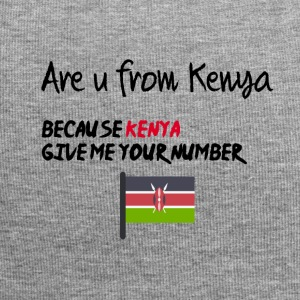 Are you from Kenya - Jersey Beanie
