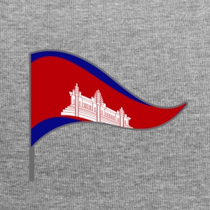 Cambodia Asia Penh flag flag national colors - Jersey Beanie