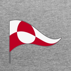 Grönland Nuuk Insel Flagge Fahne Landesfarbe USA - Jersey-Beanie
