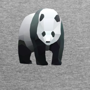 low poly panda - Bonnet en jersey