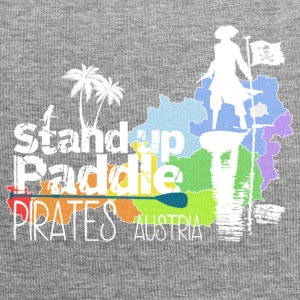 Stand up Paddle Pirates white - Jersey Beanie