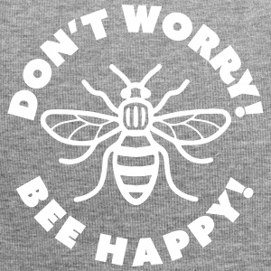 Don't Worry! Bee Happy! - Jersey Beanie
