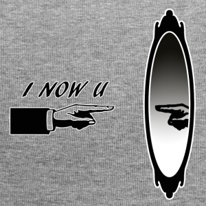 I_NOW_YOU - Czapka krasnal z dżerseju