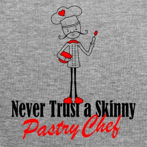 Never trust a skinny pastry chef - Jersey Beanie