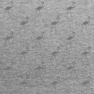 beaucoup Flamingos gris - Bonnet en jersey