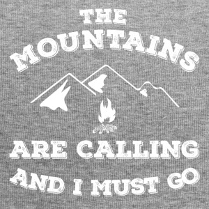 Mountains Calling gift idea birthday t-shirt - Jersey Beanie