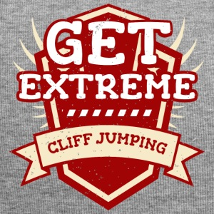 Get Extreme Cliff Jumping - Jersey Beanie