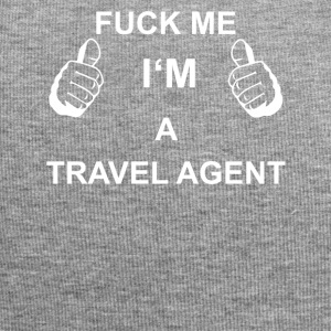 TRUST FUCK ME IN TRAVEL AGENT - Jersey Beanie