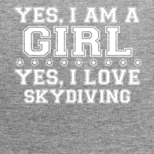 gift on girl a girl love gift bday SKYDIVING - Jersey Beanie