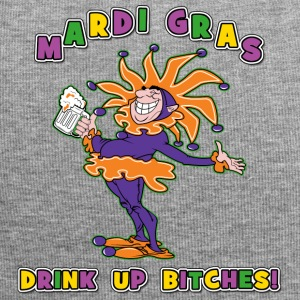 Mardi Gras Drink Up Bitches - Jersey-beanie