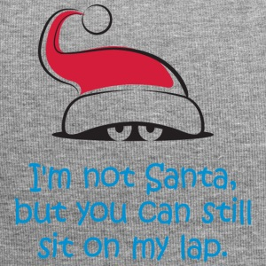 I'm Not Santa,But You Can Still Sit On My Lap. - Jersey Beanie