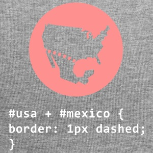 CSS Pun: American-Mexican Border - Jersey Beanie