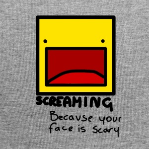 Screaming face - Jersey Beanie