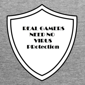 Real Gamers need no virus protection - Jersey Beanie