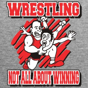 Wrestling Funny Wrestling Not All About Winning - Jersey Beanie