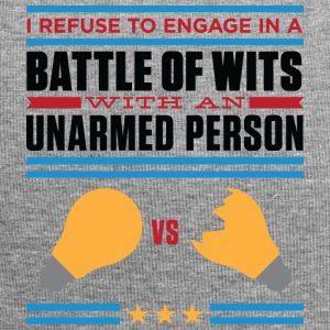 Refuse In A Battle Of Wits With An Unharmed Person - Jersey Beanie