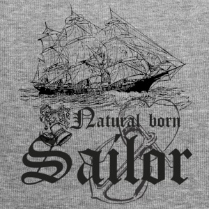 Sailor - Natural born sailor T-paita - Jersey-pipo