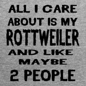 All i care about is my ROTTWEILER - Jersey-Beanie