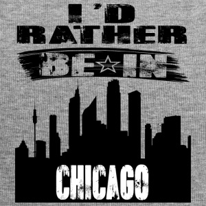Gift Id rather be in Chicago - Jersey Beanie