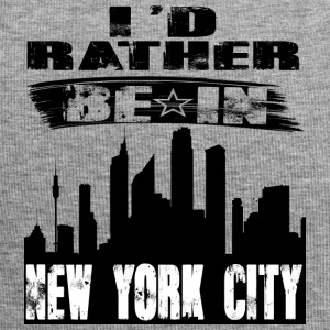 Geschenk Id rather be in New York City - Jersey-Beanie