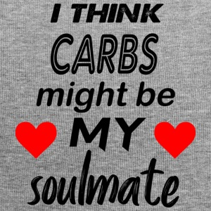 carbs are my soulmate - Jersey Beanie