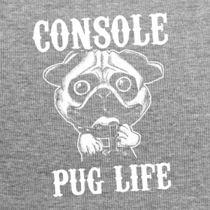 Console pug leven - Jersey-Beanie