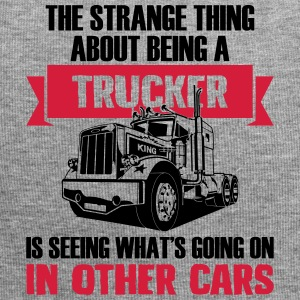 Strange being a trucker - Jersey Beanie