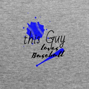 dieser typ liebt baseball | this guy love baseball - Jersey-Beanie