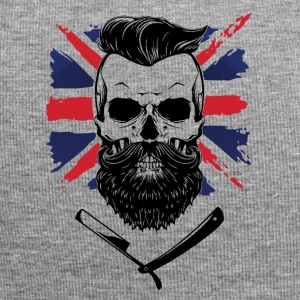 bearded union jack - Jersey-Beanie