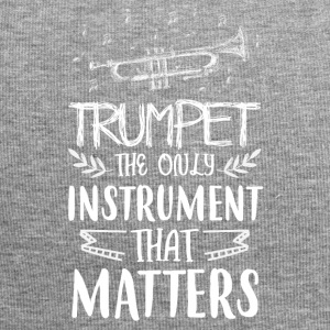 Trumpet the only instrument that matters - Jersey Beanie