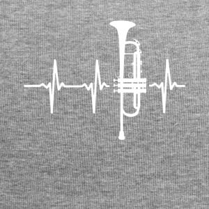 My heart beats for my trumpet - Jersey Beanie