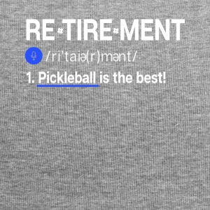 Pickleball er best - Jersey-beanie