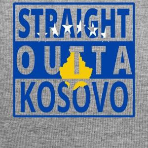 Straight outta Kosovo Balkan Kosovaarse png - Jersey-Beanie