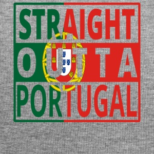 Straight outta PORTUGAL portugese - Jersey Beanie