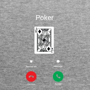 Poker appelle ace poker cadeau passe-temps - Bonnet en jersey