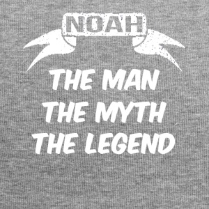 noah the man the myth the legend - Jersey Beanie