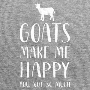 Goats make me happy, you not so much - Goat Shirt - Jersey-Beanie