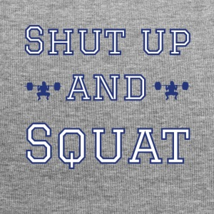 Fitness Squat Gym T-Shirt - Jersey Beanie