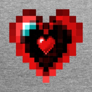 Graphic Pixel Heart - Bonnet en jersey