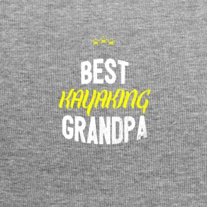 Distressed - BEST KAYAKING GRANDPA - Jersey Beanie