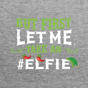 But first let me take an Elfie Weihnachts Shirt - Jersey-Beanie