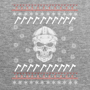 Viking Ugly Xmas Sweater Gift Christmas - Jersey Beanie