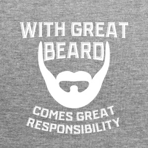 With a big beard comes Great Verantowortung - Jersey Beanie